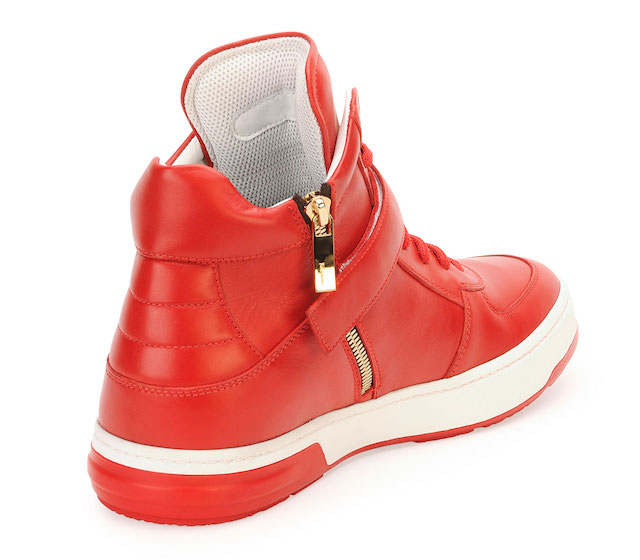 Salvatore Ferragamo Nayon Gancini Leather High-Top Sneakers_3