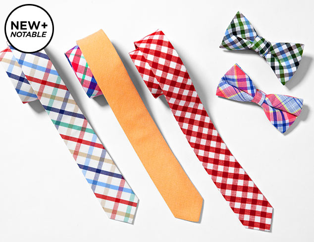 Skinny Tie Madness at MYHABIT