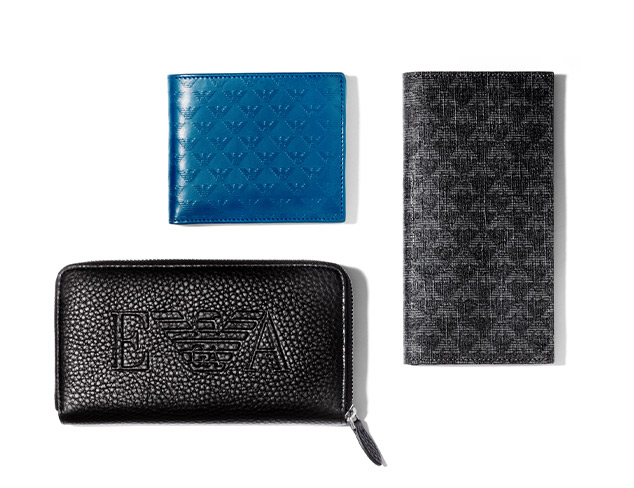 Sleek Wallets feat. Emporio Armani at MYHABIT
