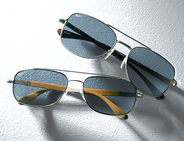 The Aviator feat. Persol at MYHABIT
