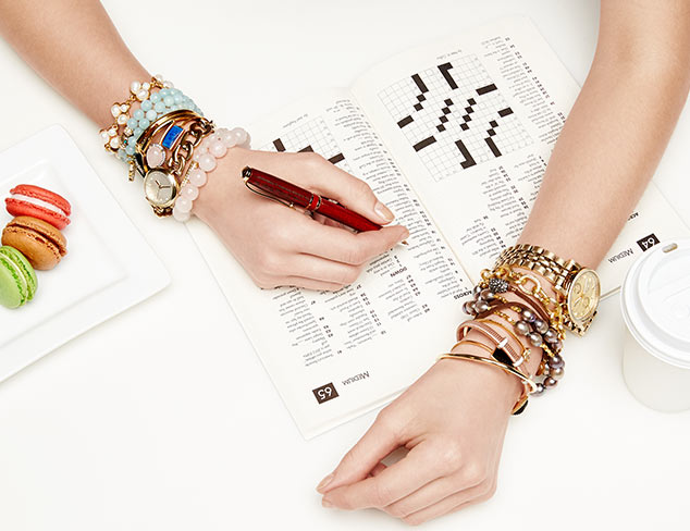The Stacked Wrist: Watches & Bracelets at MYHABIT