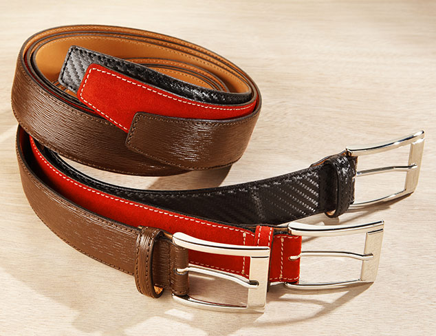The Tailored Look: Belts at MYHABIT