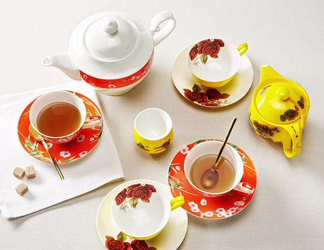 Traditional Tea Party feat. Auratic Fine China at MYHABIT