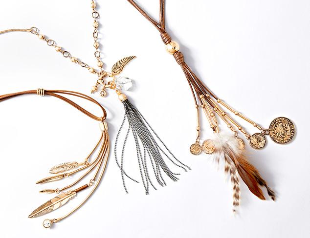 Trend to Try: Tassel Jewelry at MYHABIT