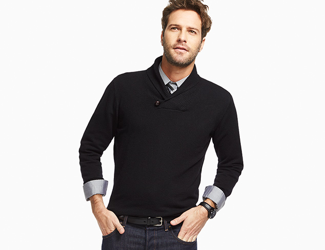 Up to 80% Off: Outerwear & Sweaters Size L/XL at MYHABIT
