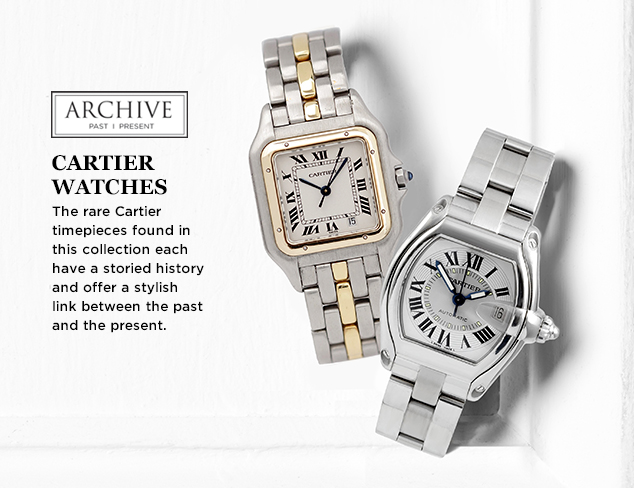 ARCHIVE: Cartier Watches for Him at MYHABIT