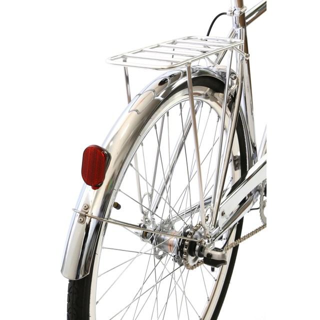 Atir Cycles // 3 Speed City Bike // Chrome