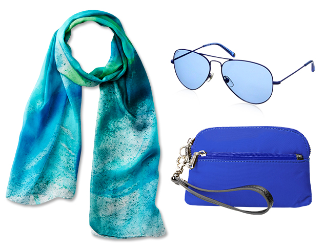 Blue Hues: Accessories at MYHABIT