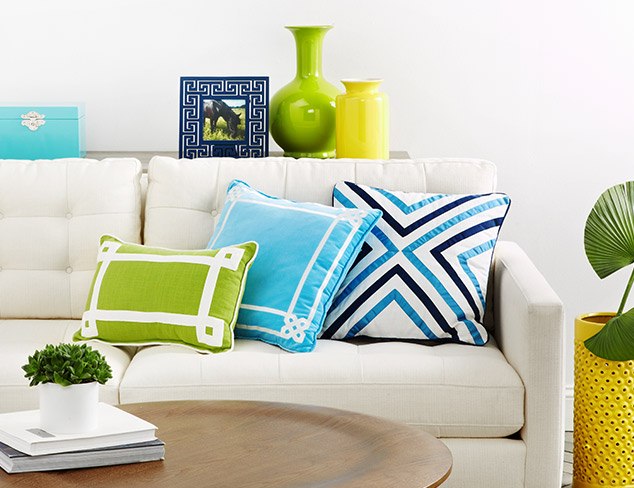 Bold & Bright feat. Happy Chic by Jonathan Adler at MYHABIT