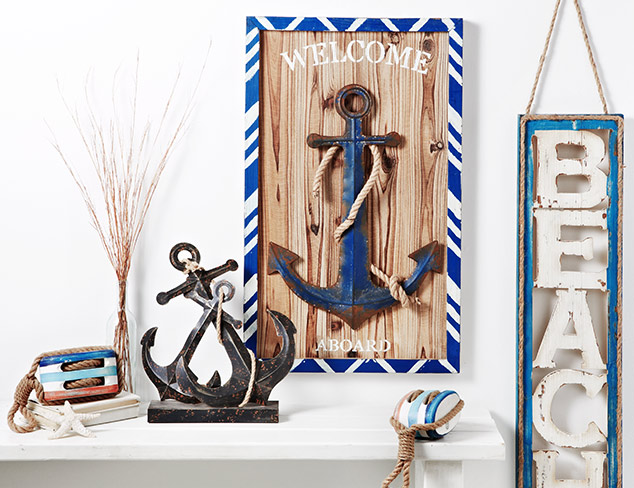 Coastal Living: Nautical Décor at MYHABIT