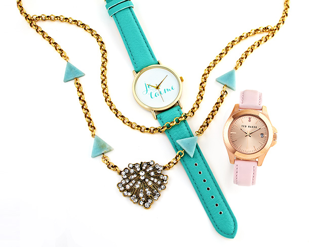 Essential for Spring: Vibrant Jewelry & Watches at MYHABIT