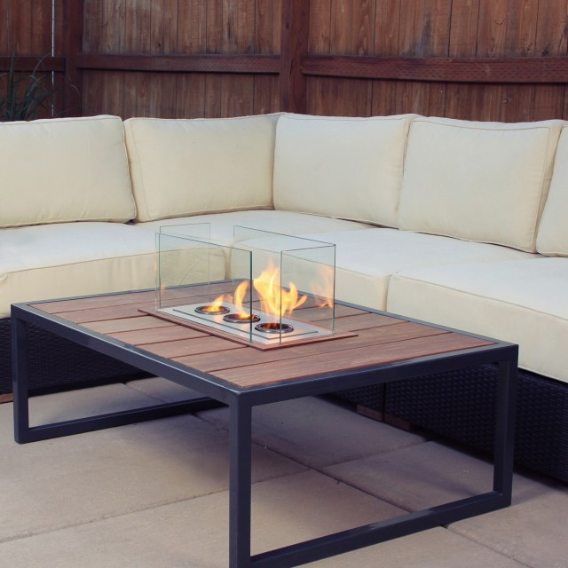 Terra Flame Firetable - Ipe