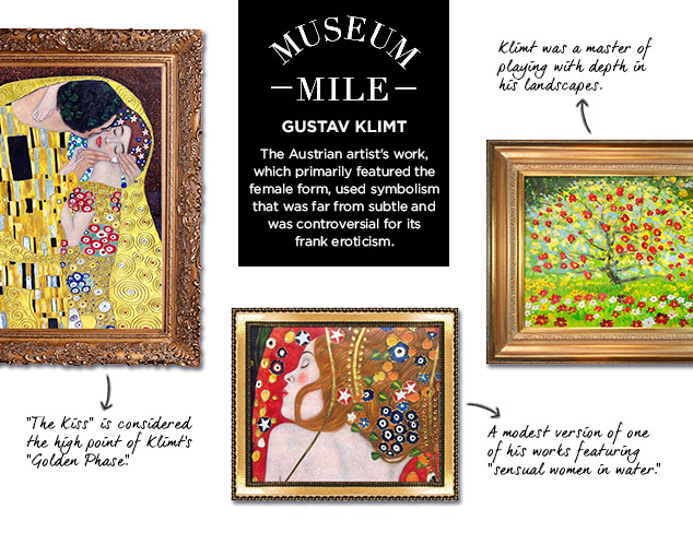 Museum Mile: Gustav Klimt at MYHABIT