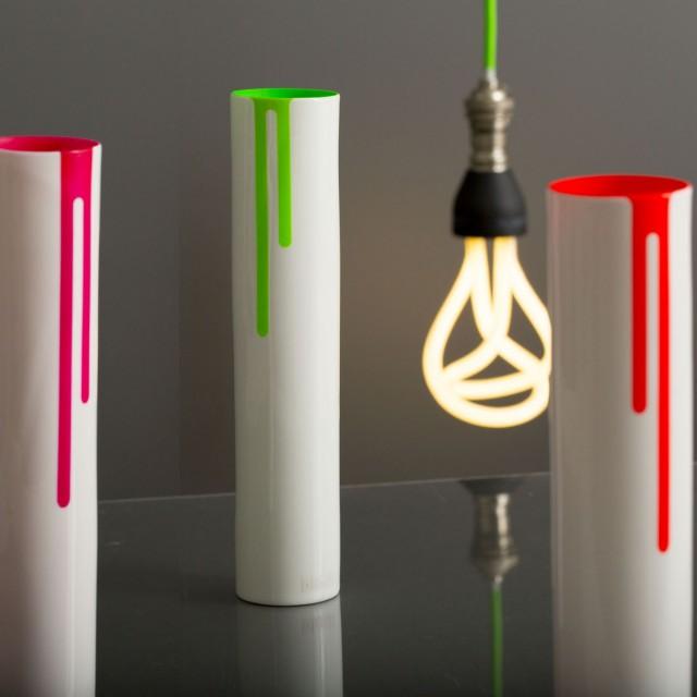 Block Designs Neon Vase