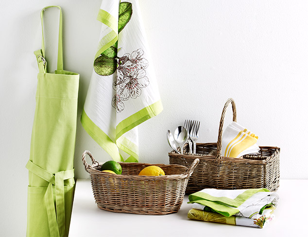 New Arrivals: Linens, Aprons and Towels at MYHABIT
