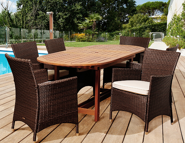 Patio Prep: Furniture for Outdoor Entertaining at MYHABIT