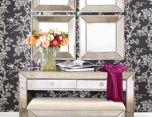 Refined Shine: Mirrored Furniture at MYHABIT