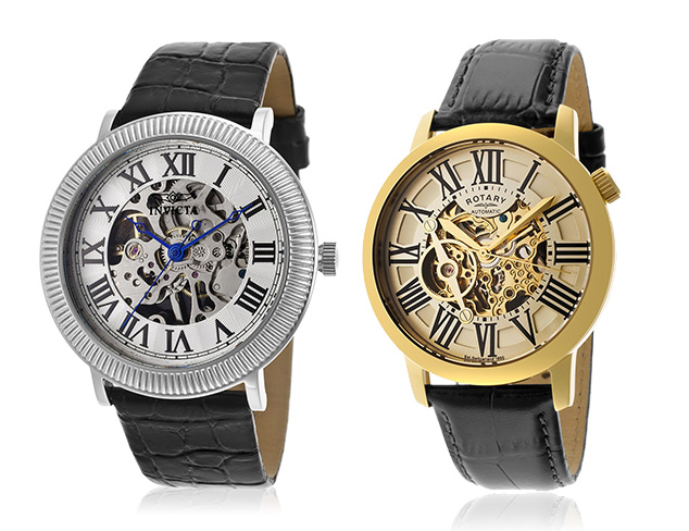 Skeleton Watches feat. Invicta at MYHABIT