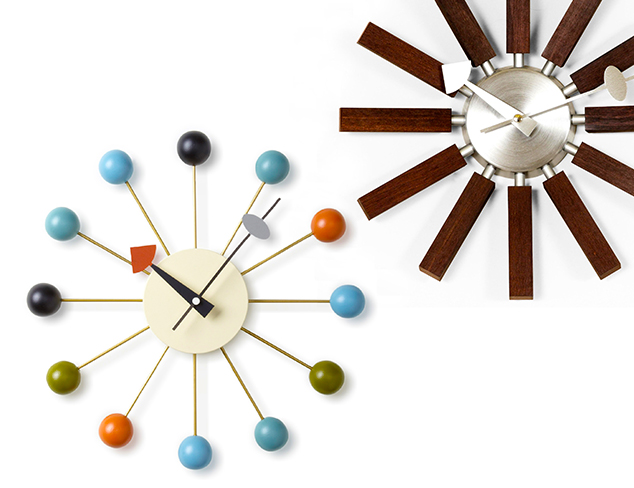 Spring Time: Mid-Century Modern Clocks at MYHABIT