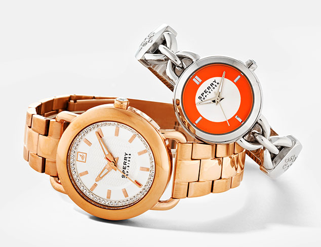 Spring Watches feat. Sperry & Ted Baker at MYHABIT