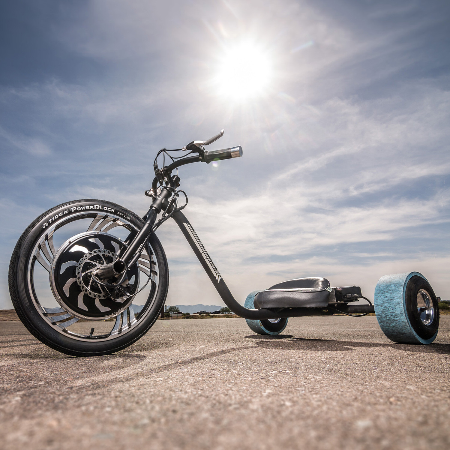 Local Motors Verrado Electric Drift Trike