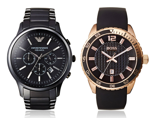 Watches feat. Emporio Armani at MYHABIT