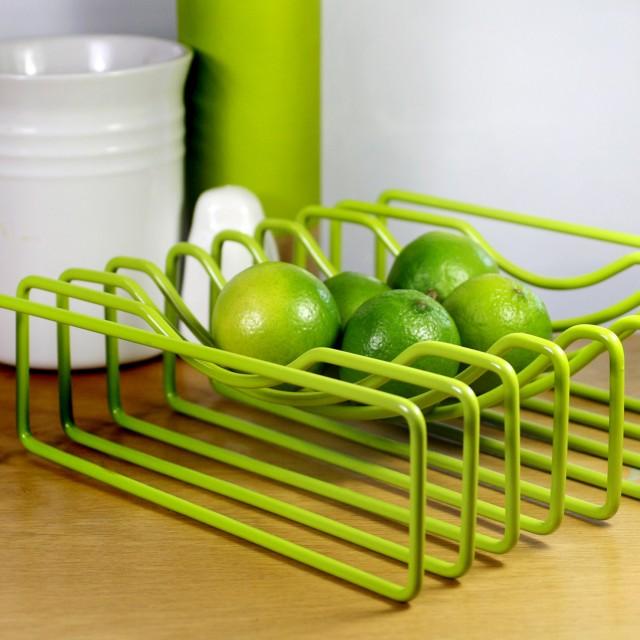 Block Designs Wire Fruit Bowl