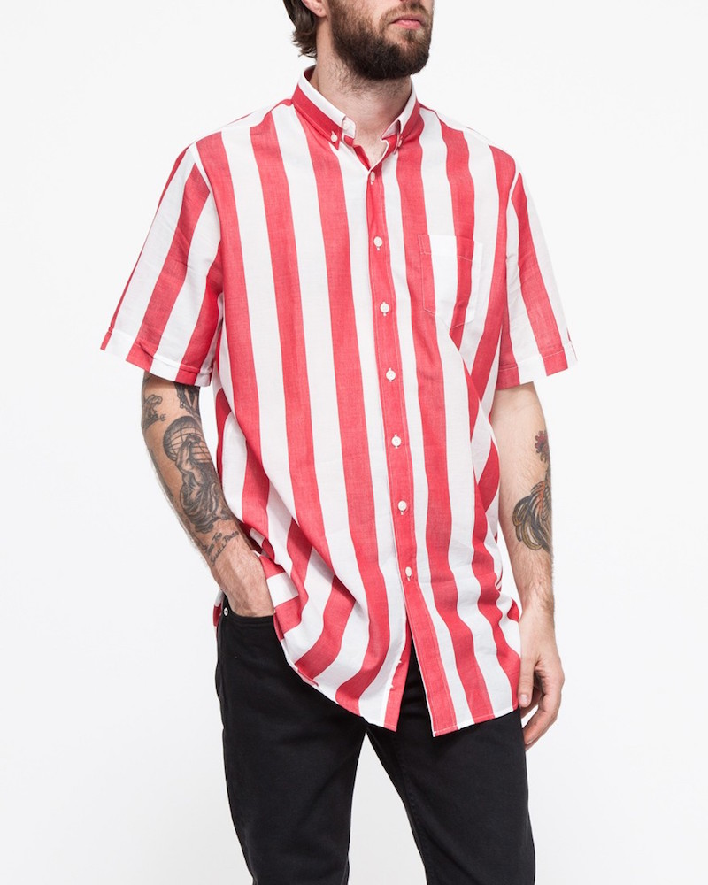 Ami Short-Sleeved Oversize Shirt