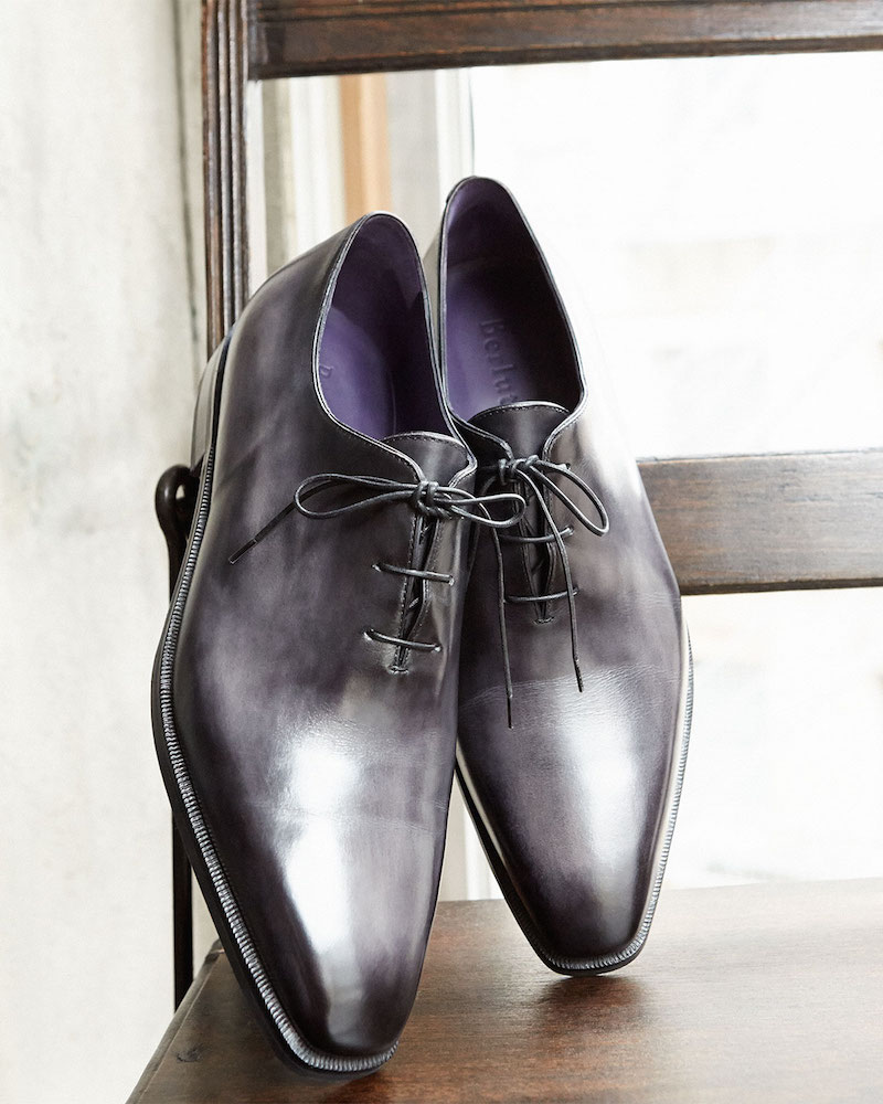 Berluti Alessandro One-Piece Leather Shoe