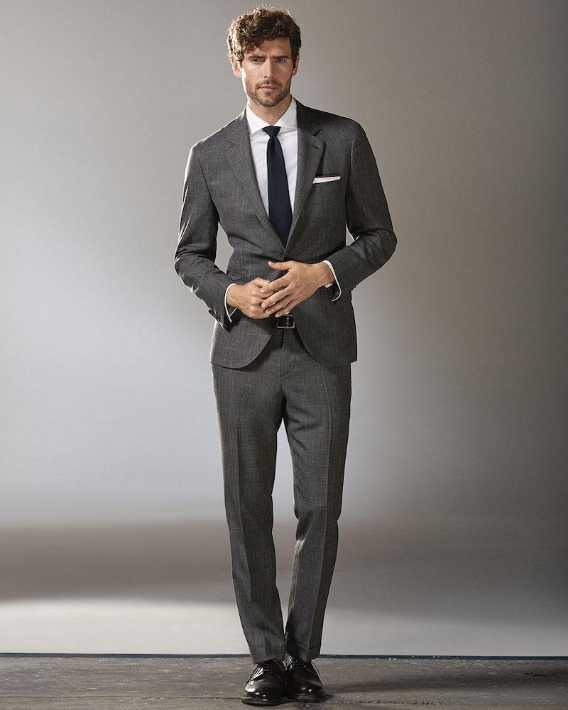 Brunello Cucinelli Pinstripe Two-Piece Wool Suit