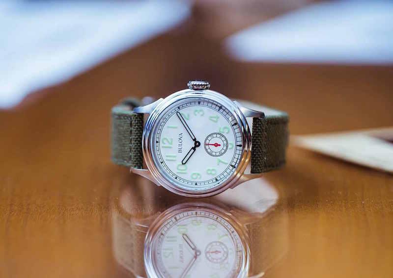 Bulova For J.Crew Air Warden Watch