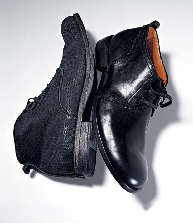 Elia Maurizi Leather Chukka Boots