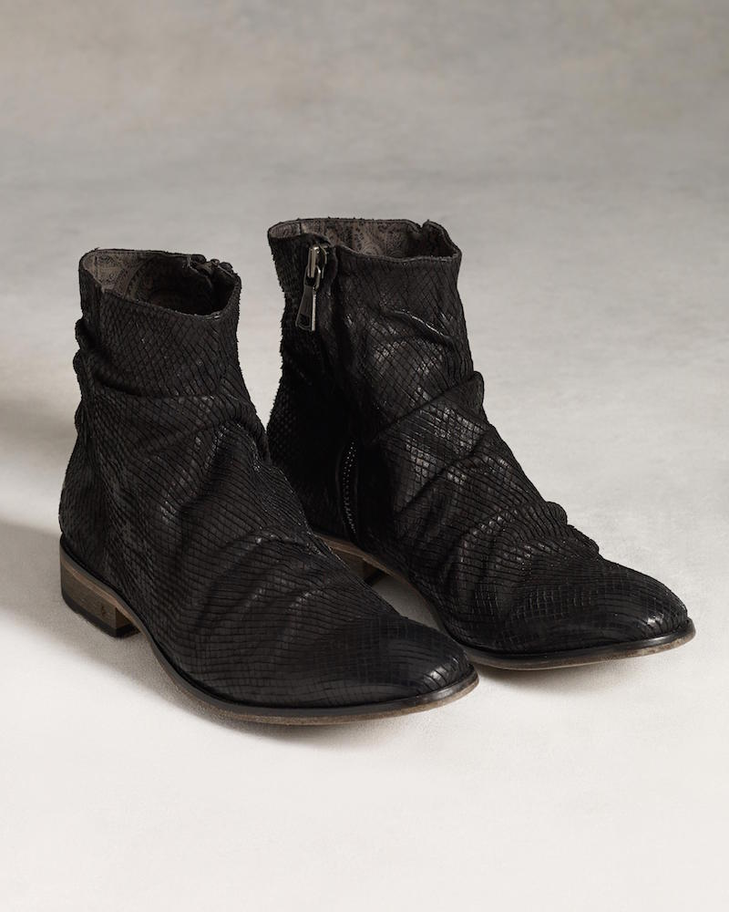 John Varvatos Richards Sharpei Boot in Black