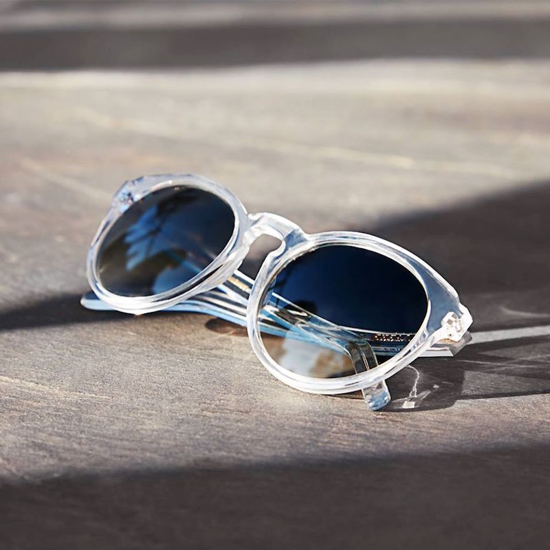 Larke Hadley Round-framed Sunglasses