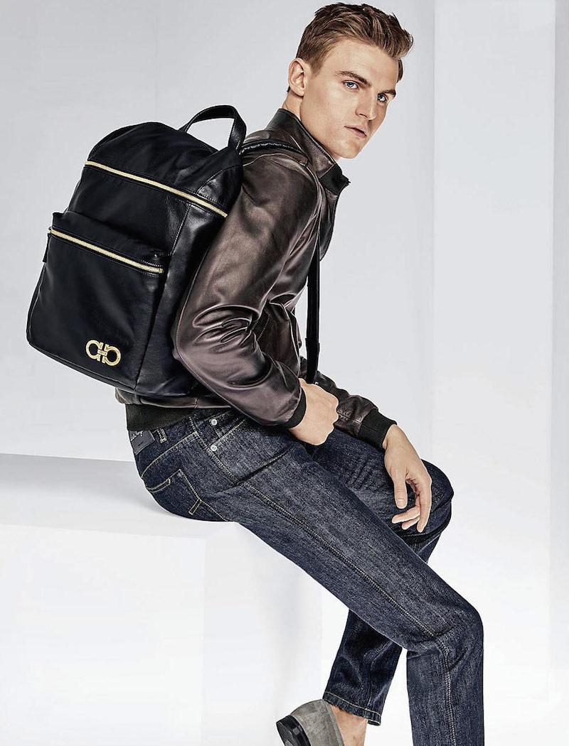 Salvatore Ferragamo Nevada Backpack