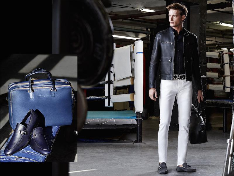 Salvatore Ferragamo Quilted Leather Moto Jacket