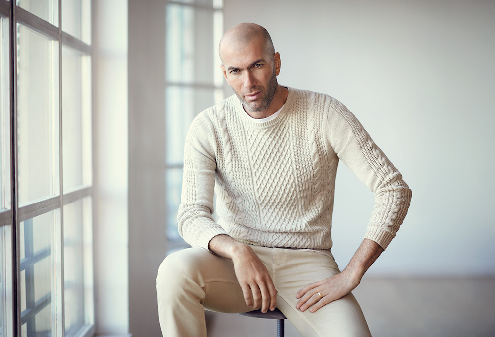 Zidane for MANGO: MANGO Man Spring/Summer 2015 Campaign feat. Zinedine Zidane