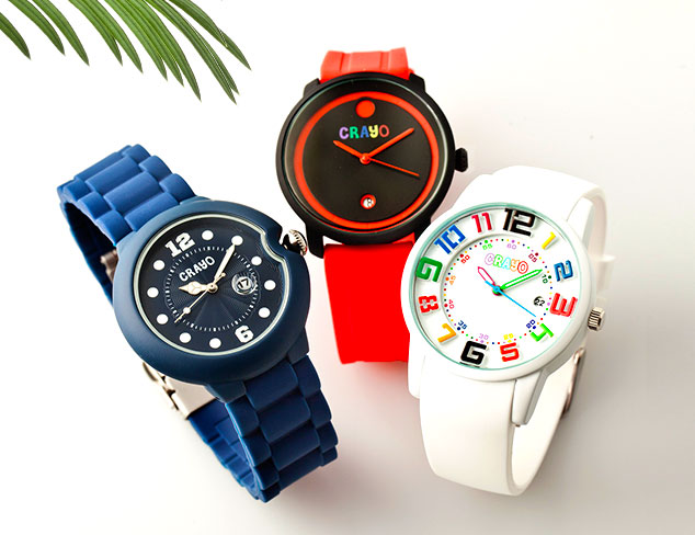 80% Off Crayo Watches at MYHABIT