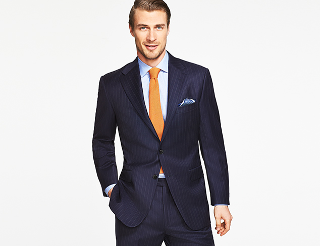 Boardroom Ready: Suiting feat. Hickey Freeman at MYHABIT