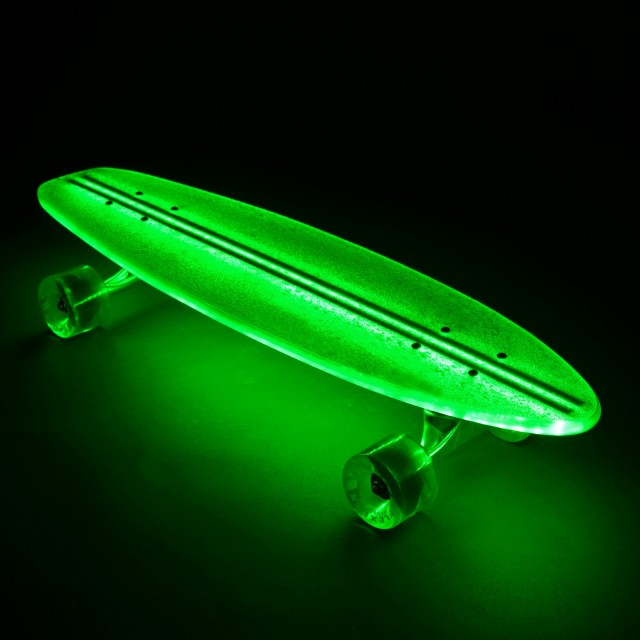 FlexDex Clear29 LED Lighted Skateboard