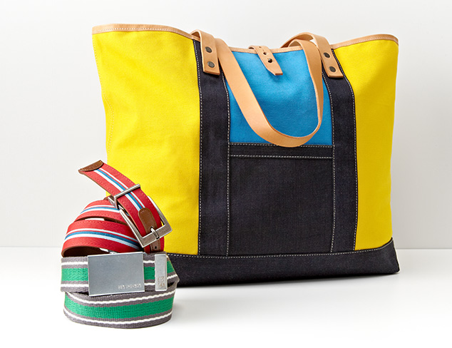 Cool & Contemporary: Bags & Belts feat. Robert Graham at MYHABIT