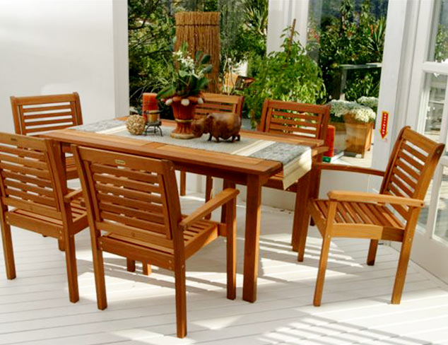 Enjoy the Outdoors: Dining & Seating Sets at MYHABIT