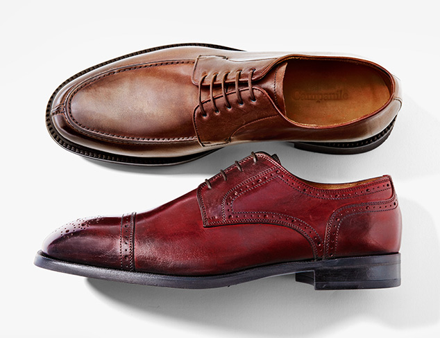 Italian Inspired: Shoes feat. Campanile Italy at MYHABIT