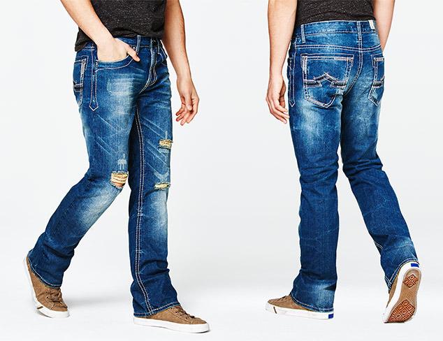 Just $39: Antique Rivet Jeans at MYHABIT