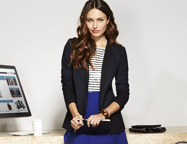 Light Layers: Blazers & Sweaters at MYHABIT