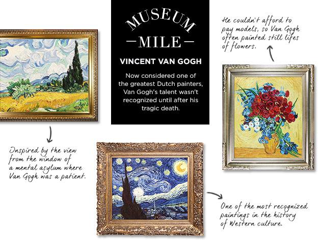 Museum Mile: Vincent Van Gogh at MYHABIT
