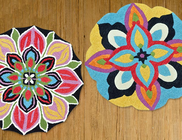 Patterned Rugs from Loloi at MYHABIT