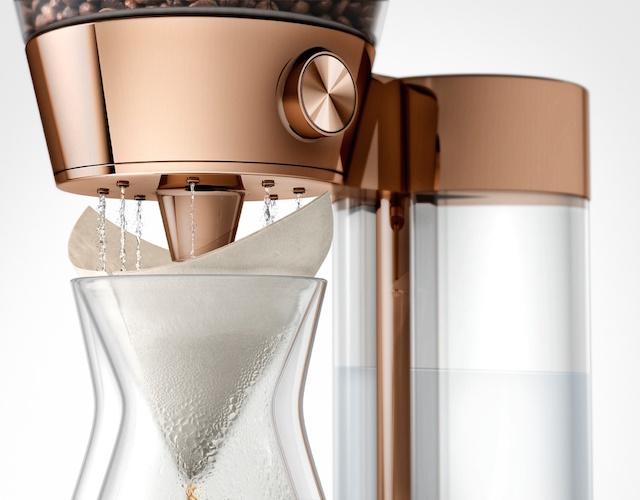 Poppy Pour-Over Smart Artisanal Coffee Machine_2