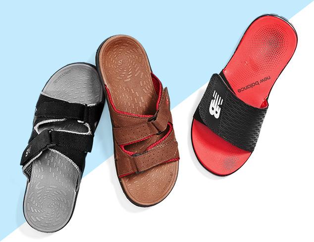 Sandals feat. New Balance at MYHABIT