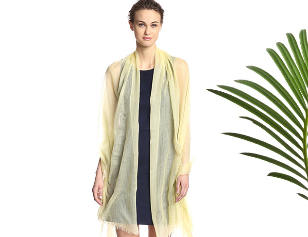 Sofia Cashmere Featherlight Wraps at MYHABIT